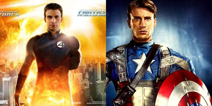 Chris Evans Excited About Playing Two Characters In A