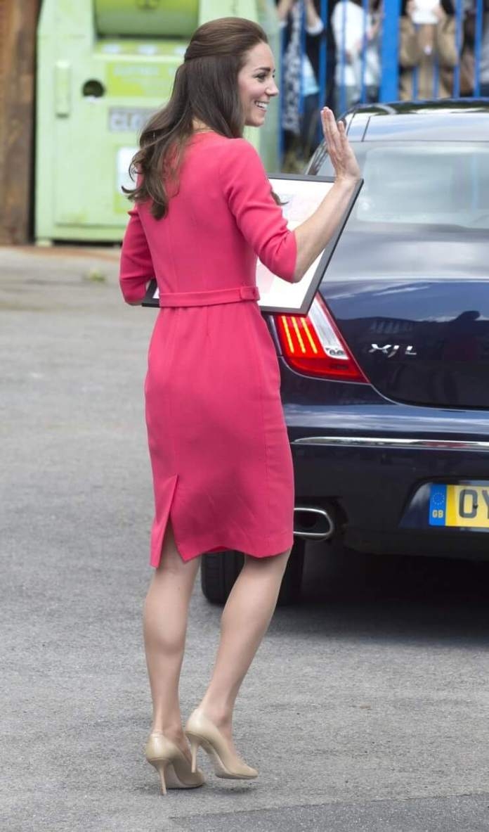Catherine, Duchess of Cambridge butt