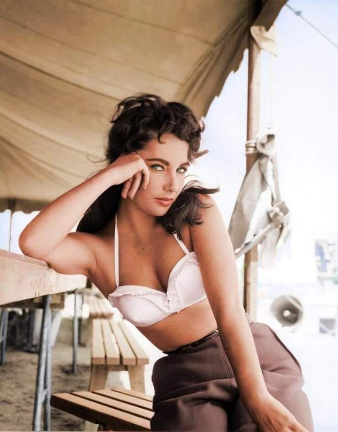 elizabeth taylor bikini