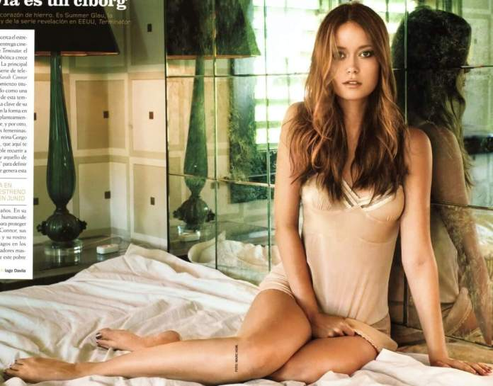 summer glau feet