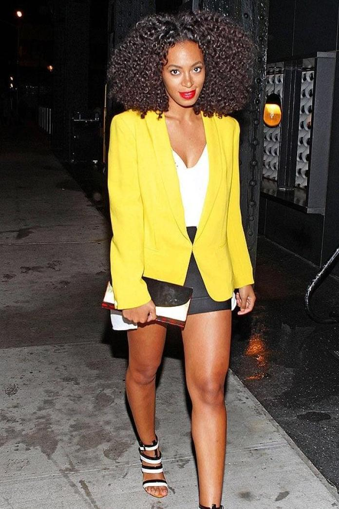 Solange Knowles sexy look