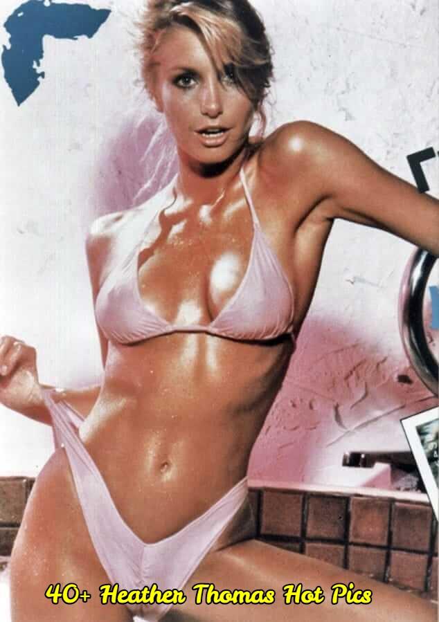 Heather Thomas sexy wet look