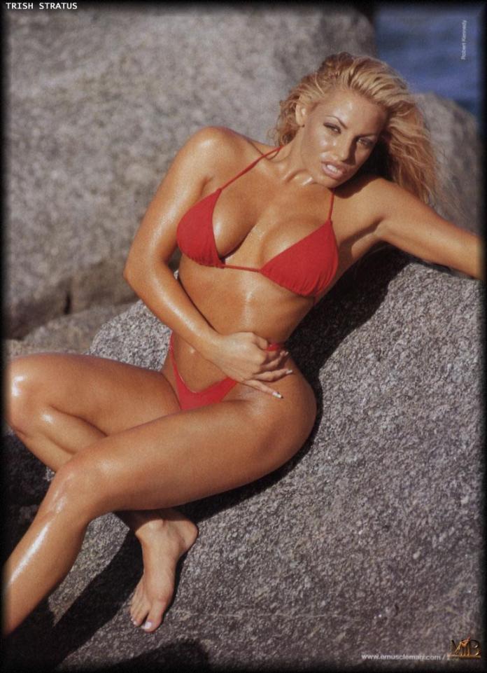 Trish Stratus sexy look