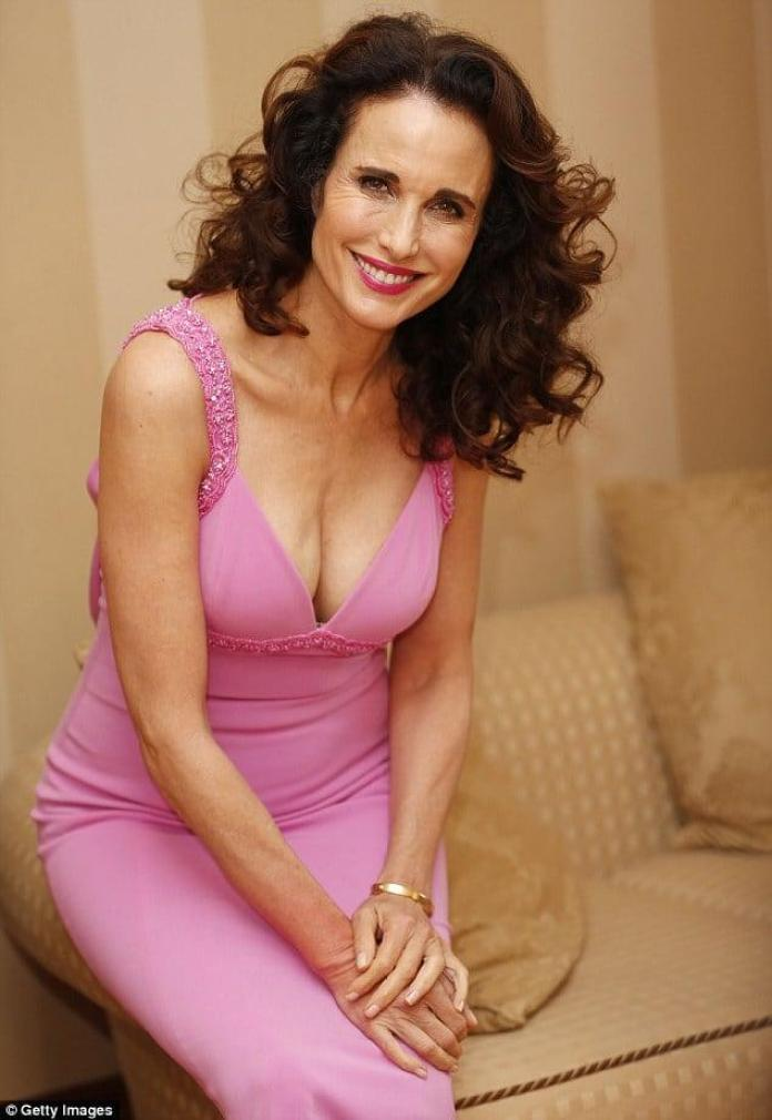 Andie MacDowell hot