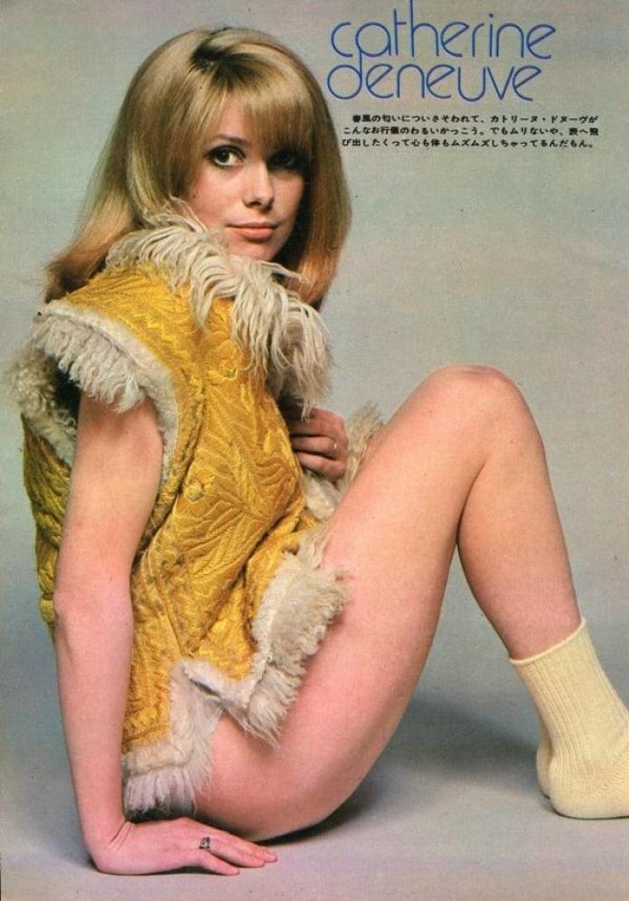 Catherine Deneuve sexy pic