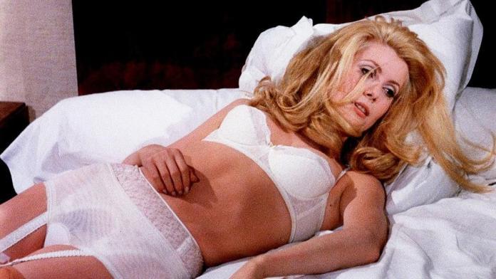 Catherine Deneuve sexy
