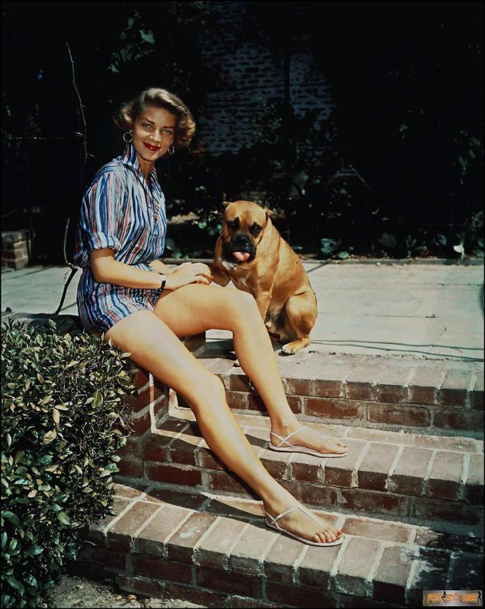 Lauren Bacall hot