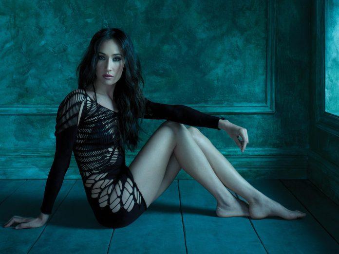 Maggie Q hot look