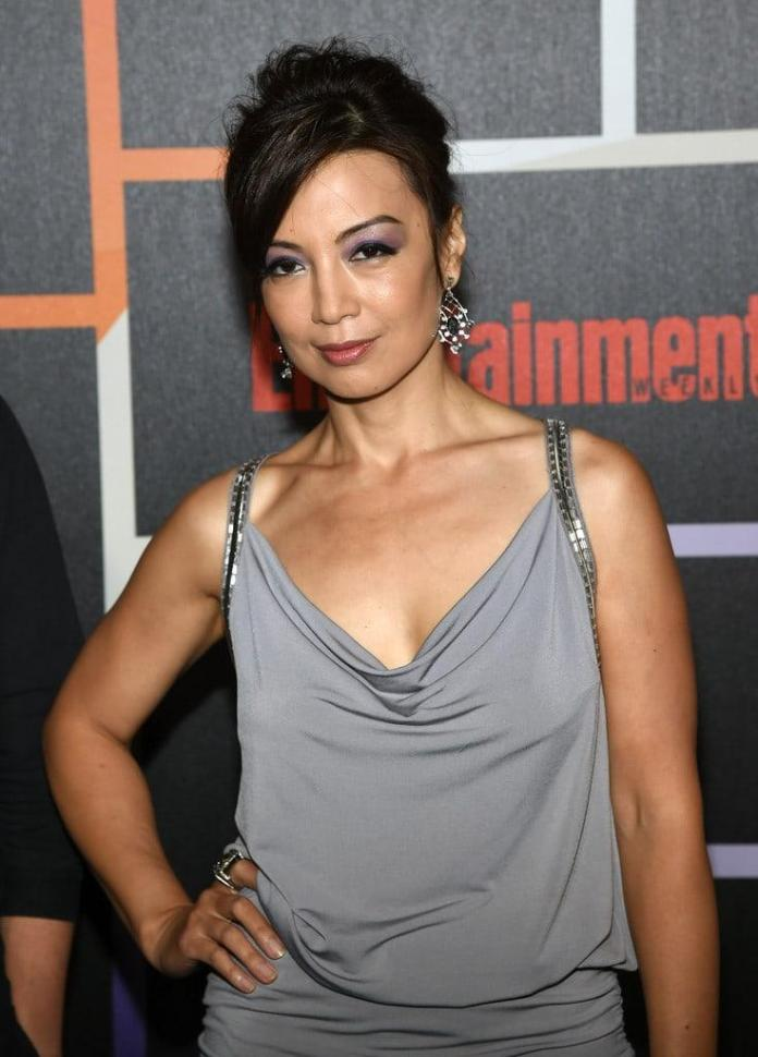 Ming-Na Wen sexy look