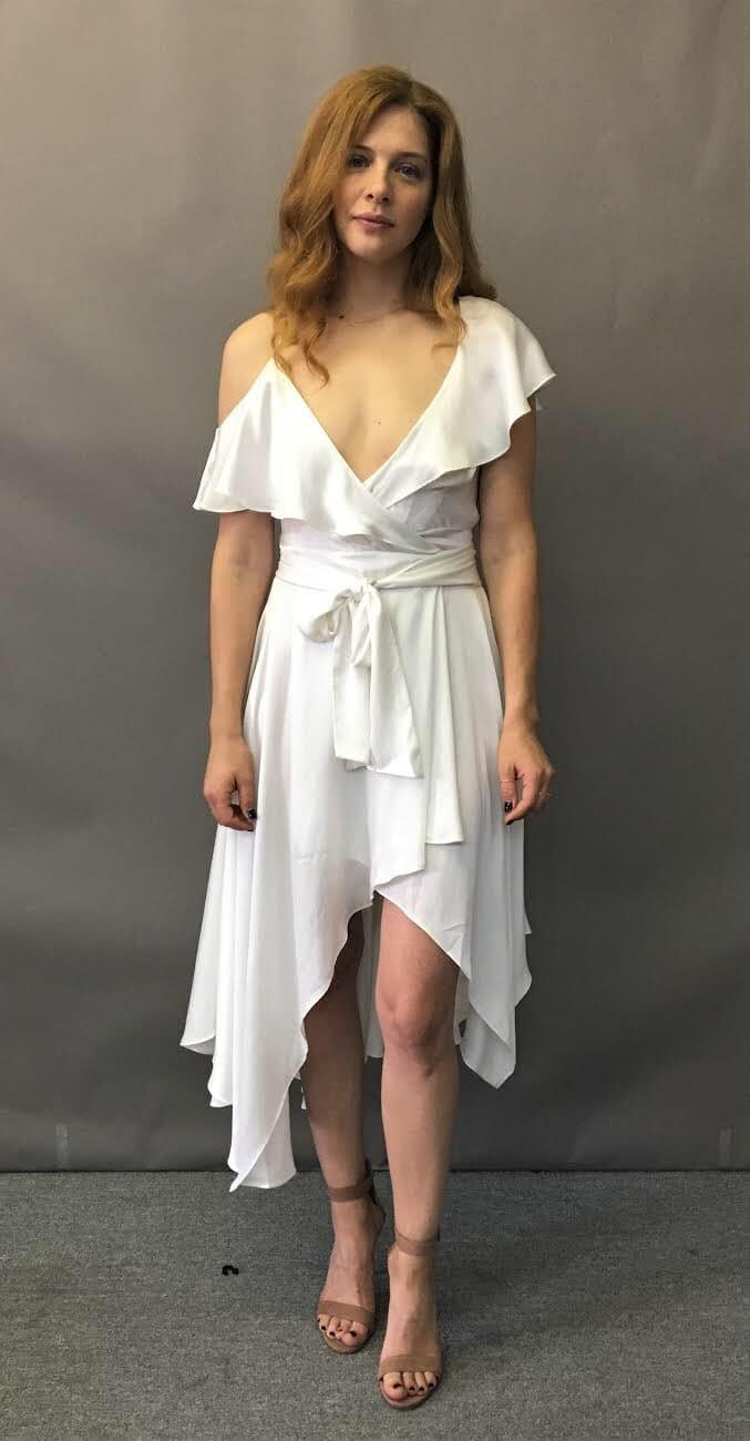 Rachelle Lefevre hot look