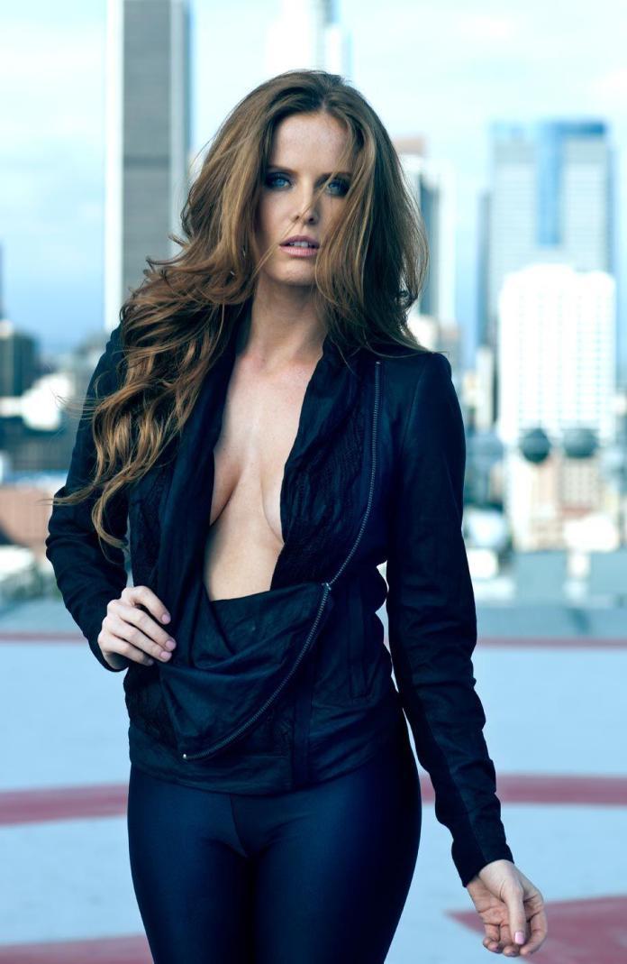Rebecca Mader sexy