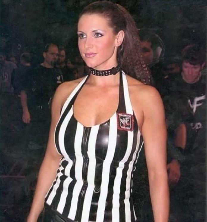 Stephanie McMahon sexy look