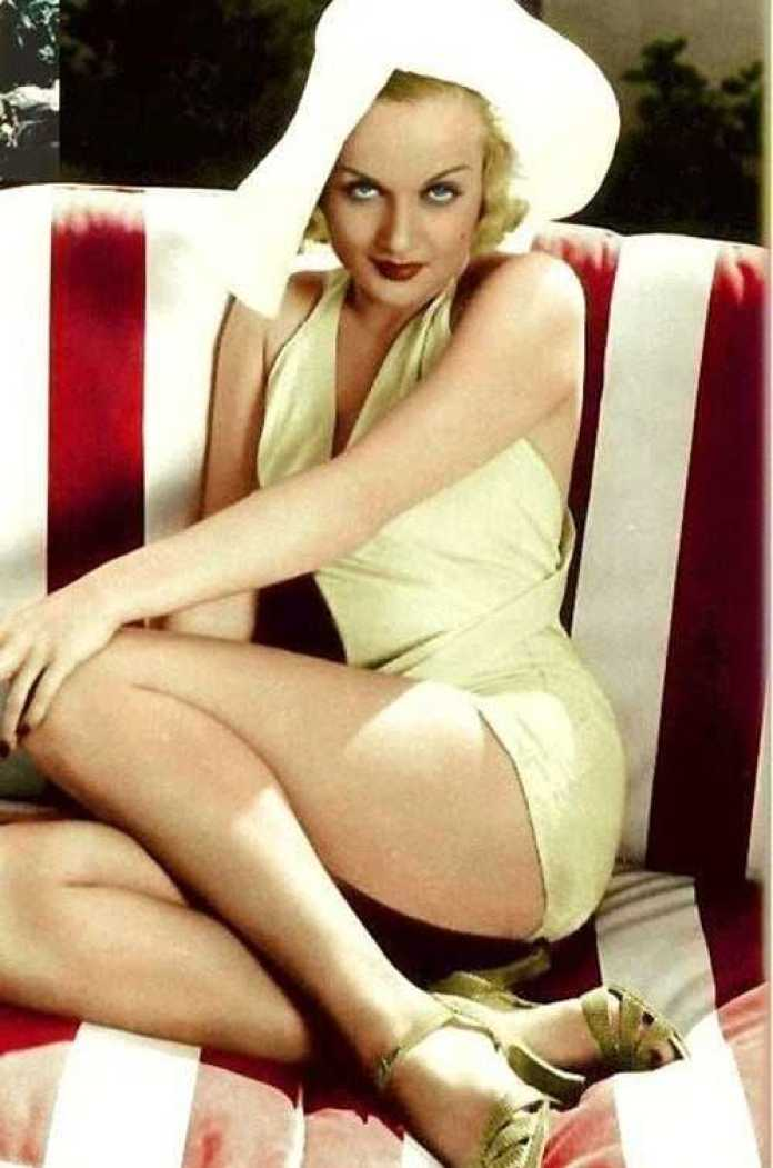 carole lombard hot thighs