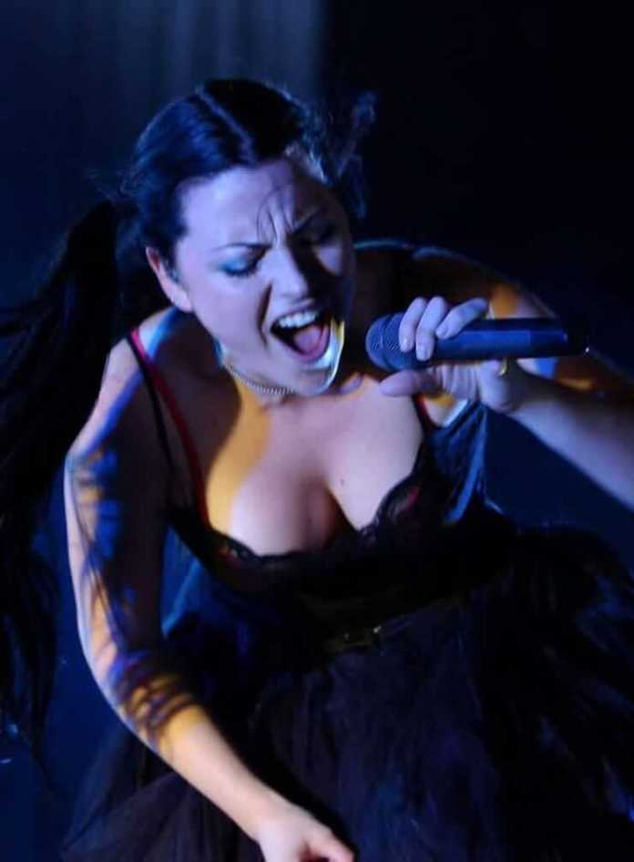 Amy Lee big busty pictures