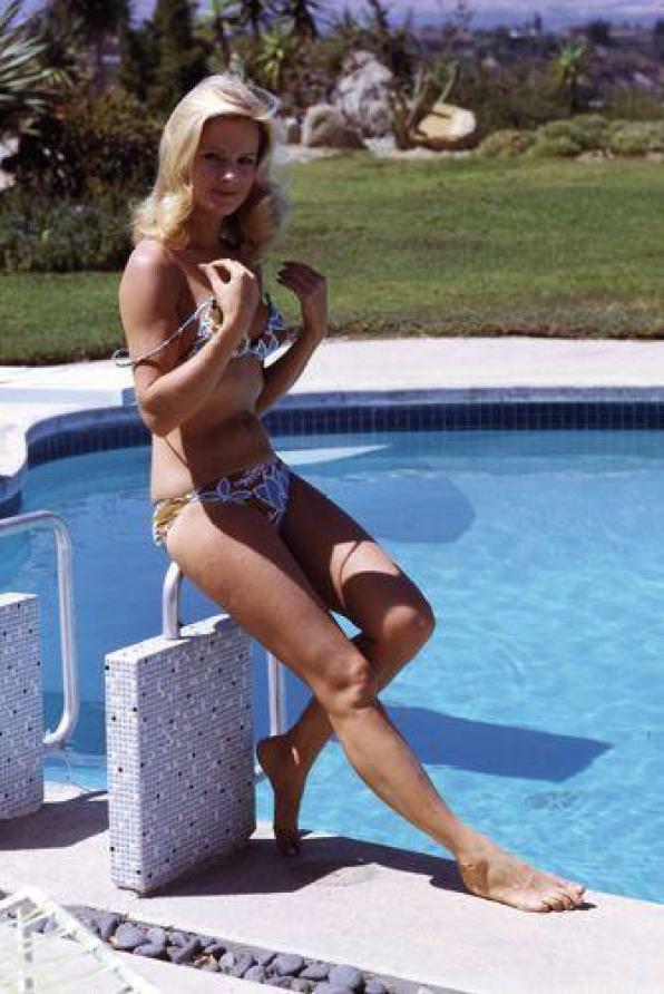 Angel Tompkins sexy bikini pics