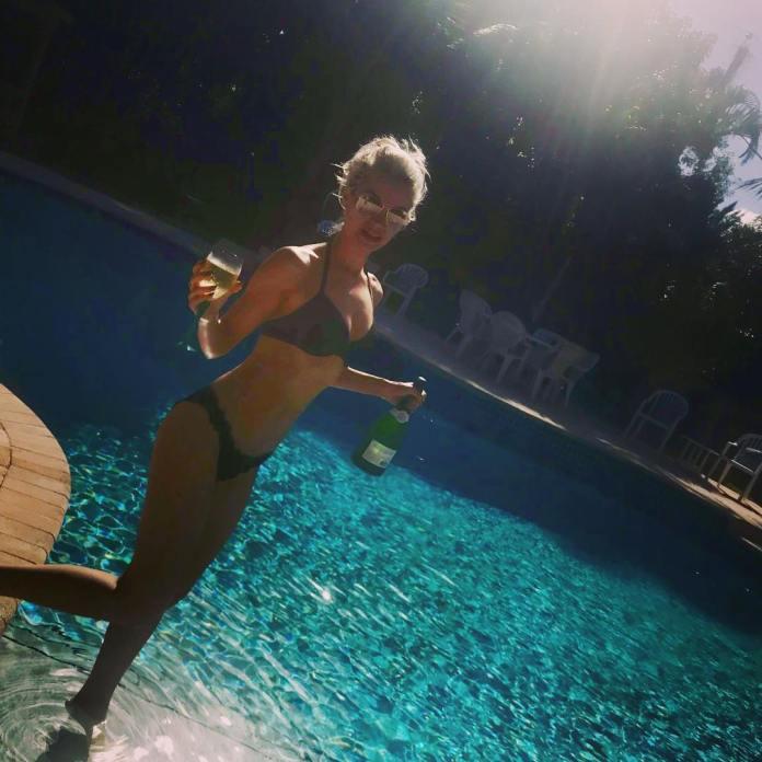 Christian Pitre hot bikini pic