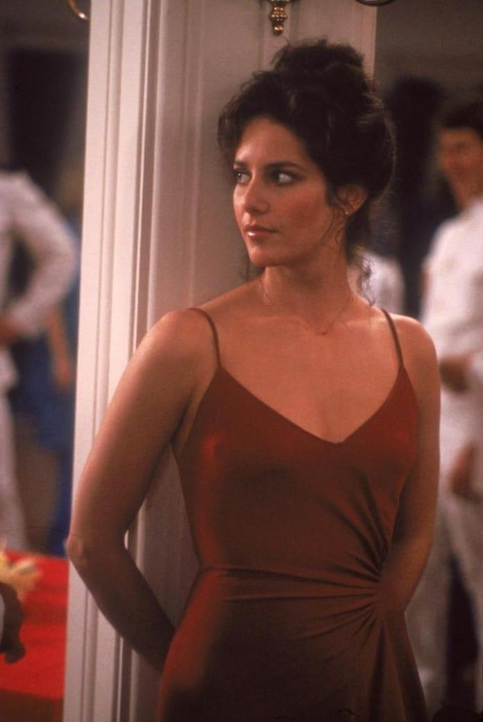 Debra Winger cleavage