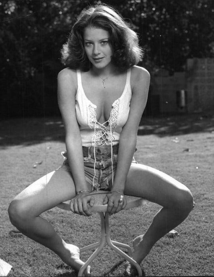 Debra Winger hot cleavage