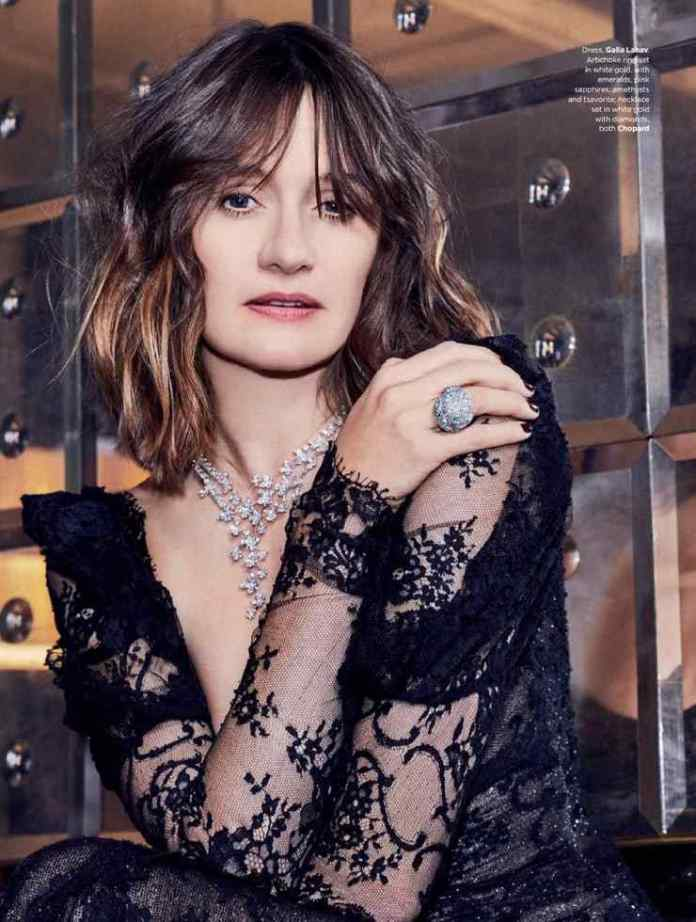 Emily Mortimer busty look