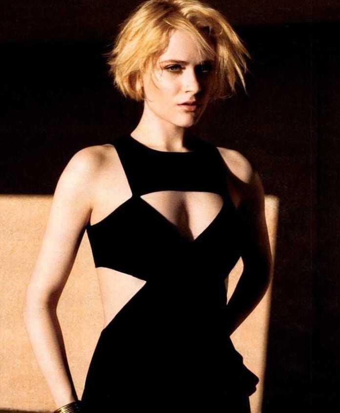 Evan Rachel Wood cleavage pic