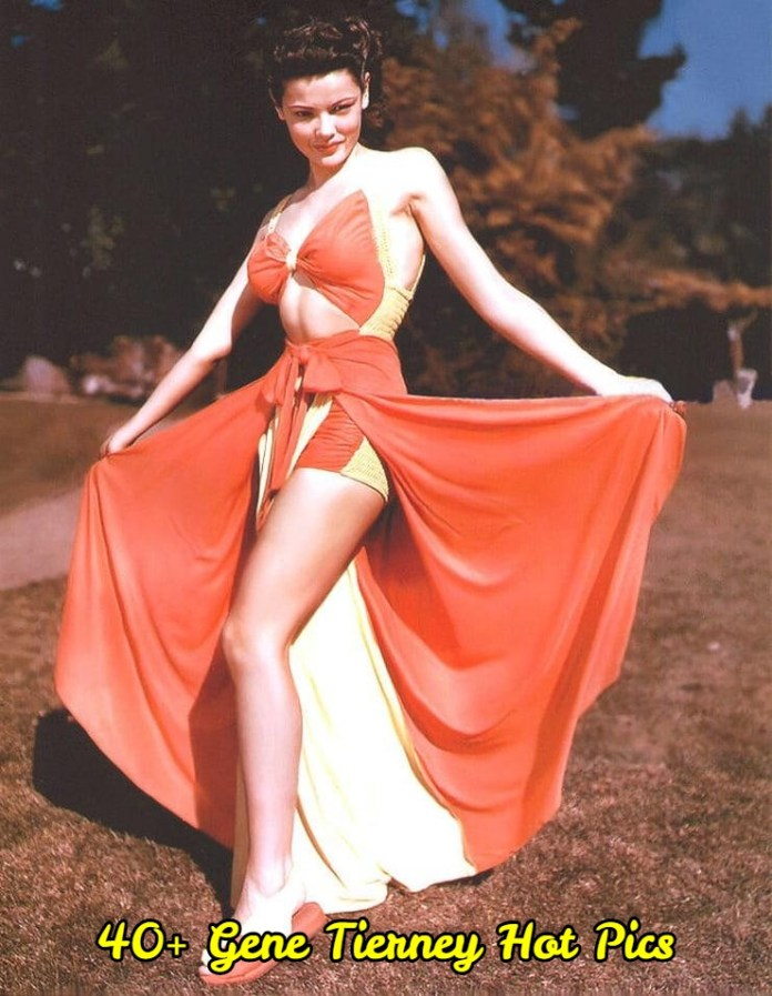 Gene Tierney hot pictures