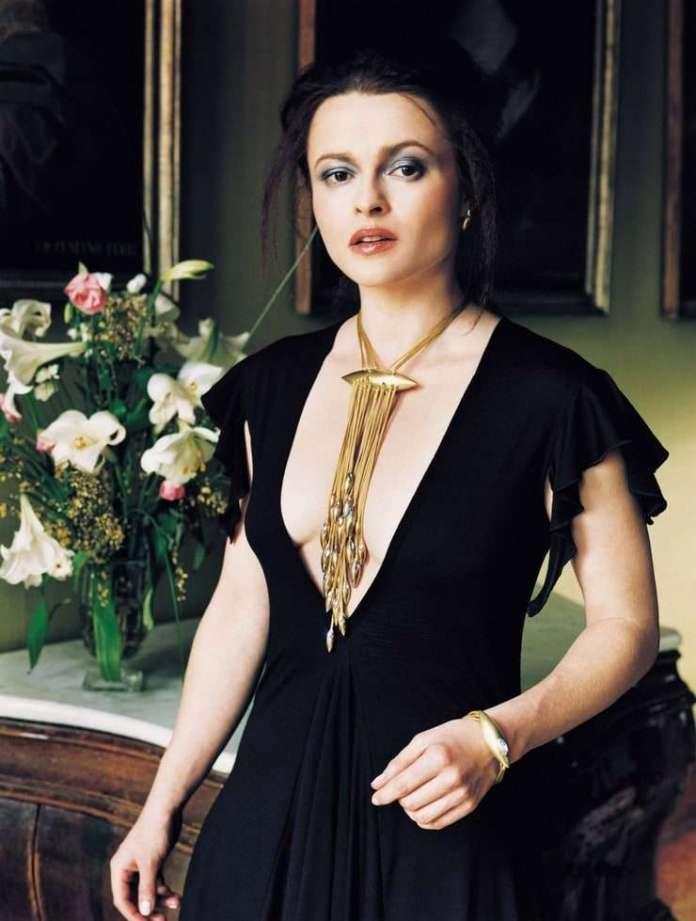 Helena Bonham Carter hot look