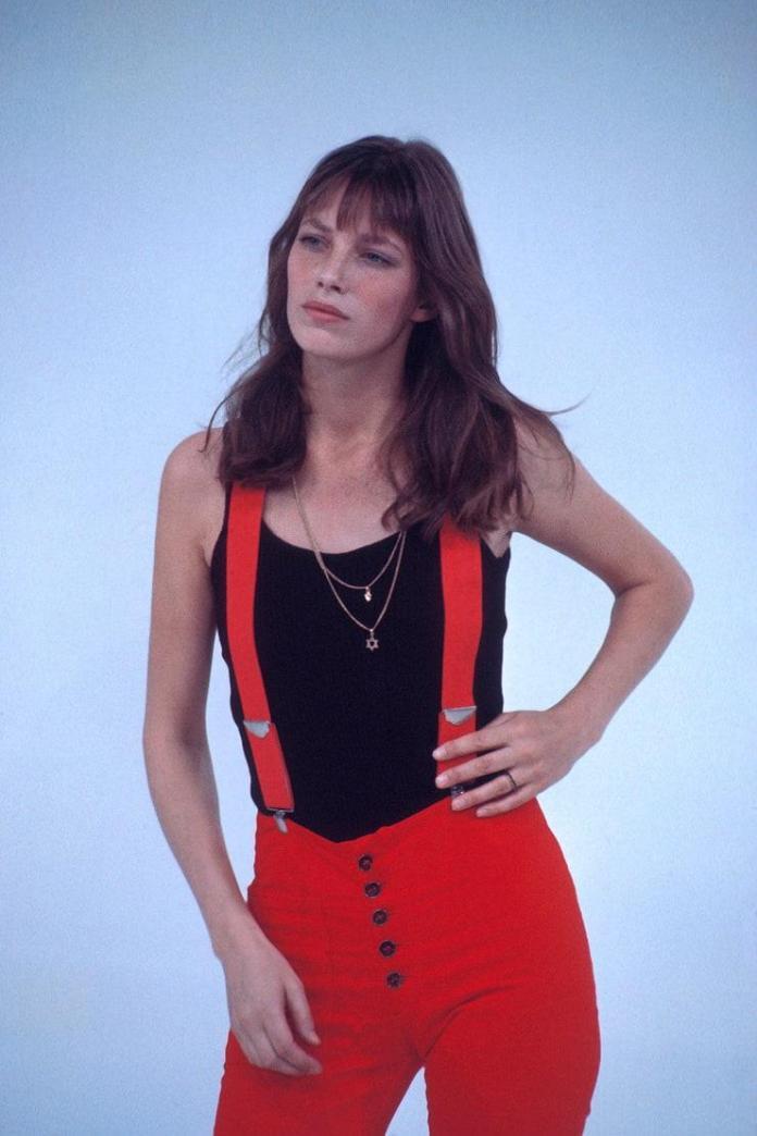 Jane Birkin sexy look