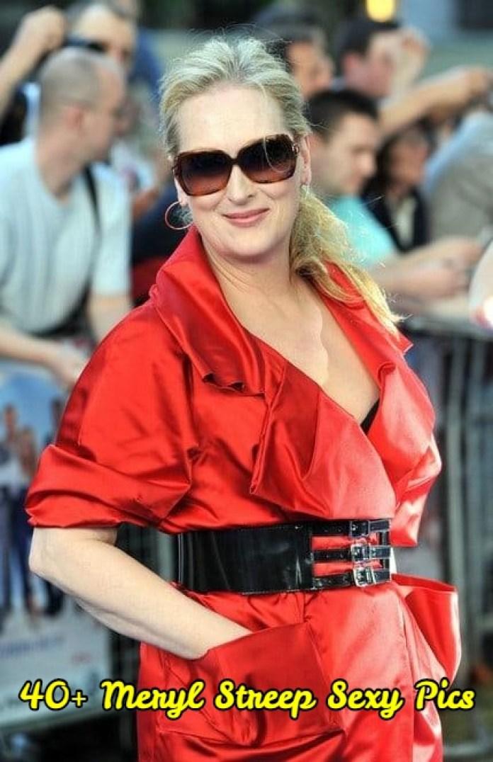Meryl Streep Sexy Pics