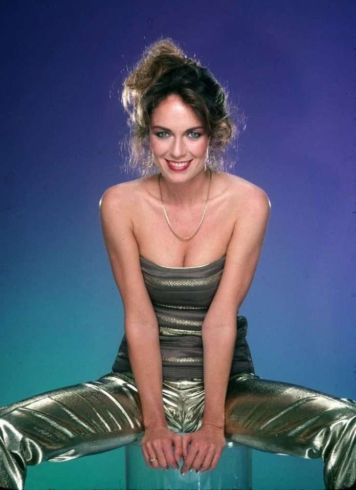 Catherine Bach hot look