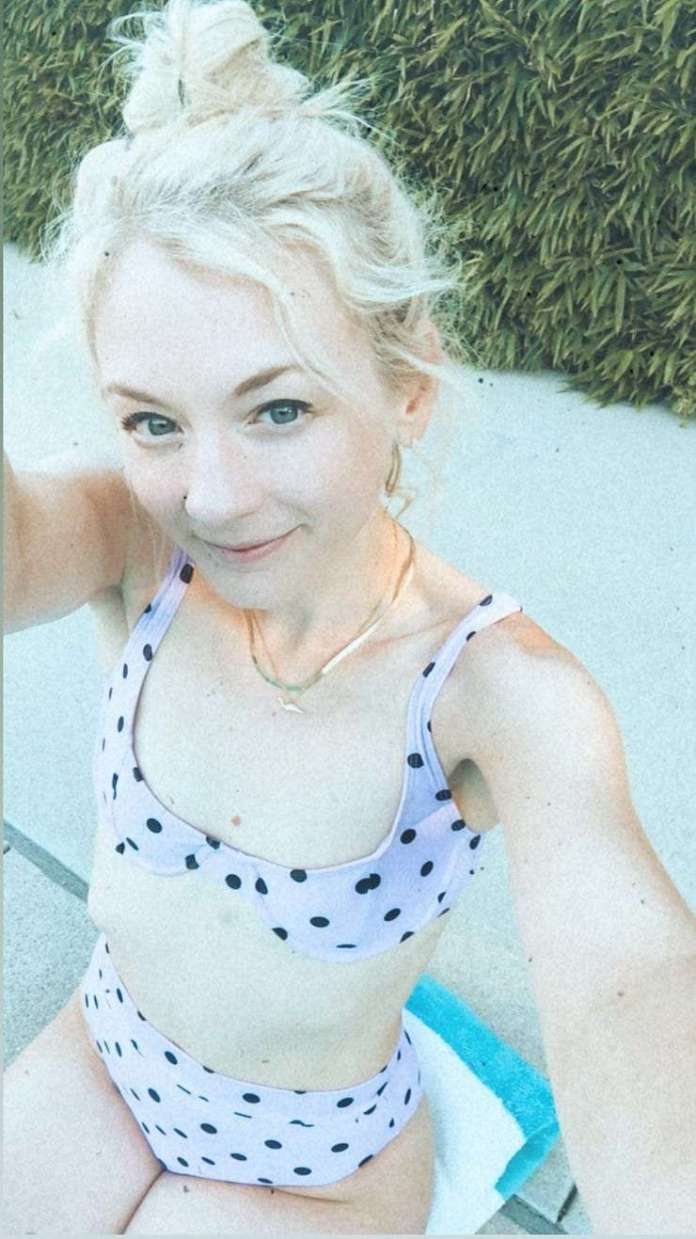 Emily Kinney sexy look