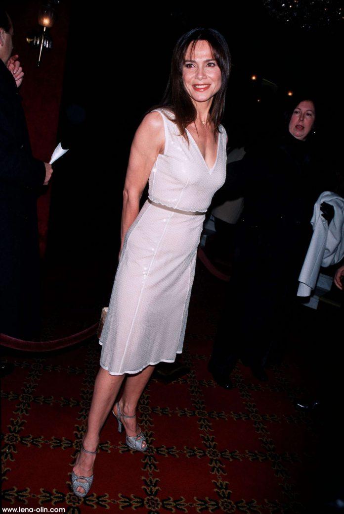 Lena Olin sexy look