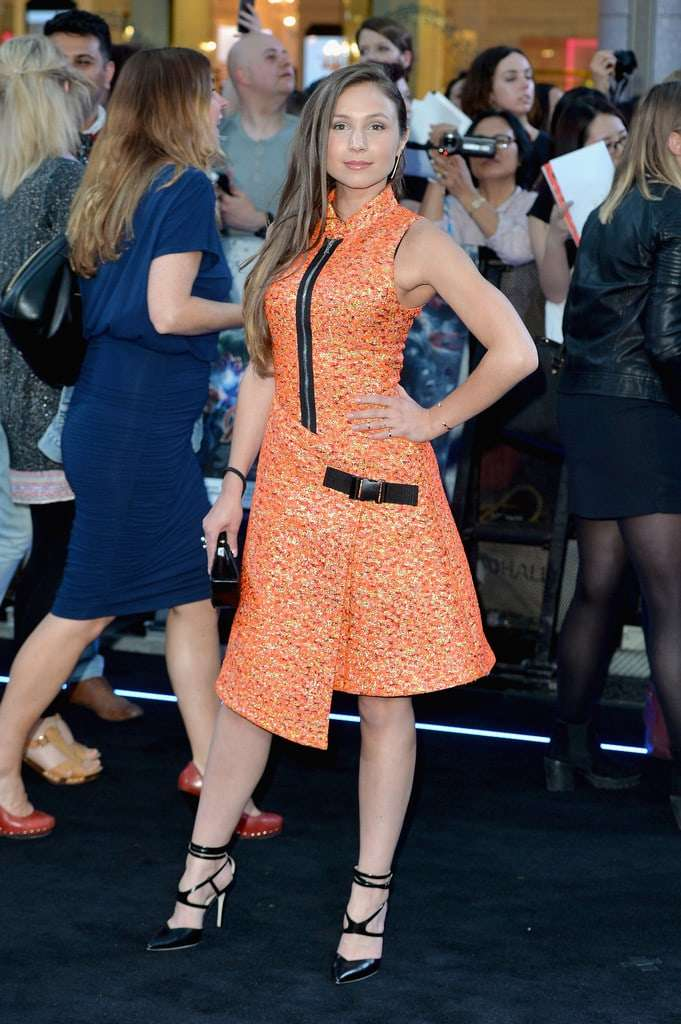 Dominique Provost-Chalkley sexy pics