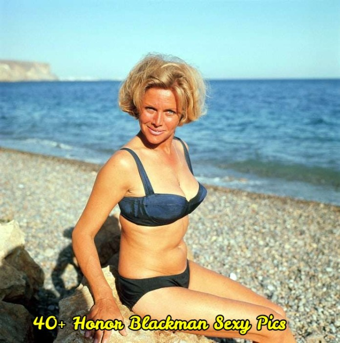 Honor Blackman sexy pictures