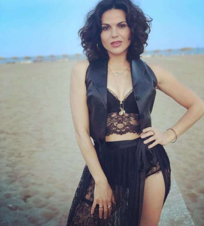 Lana Parrilla sexy look