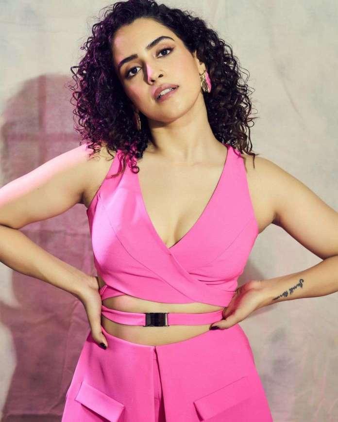 Sanya Malhotra sexy look