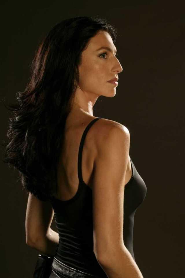 Claudia Black sexy back