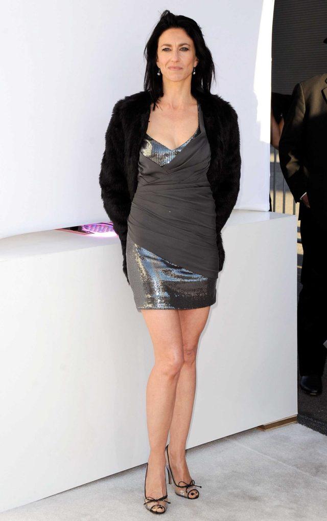 Claudia Black sexy legs
