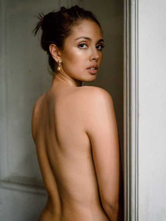 Megan Young sexy back