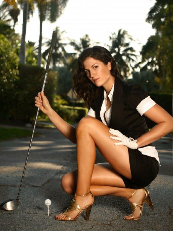 Maria Verchenova sexy thigh