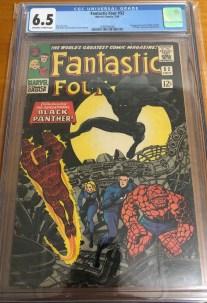 Fantastic Four #52 CGC 6.5