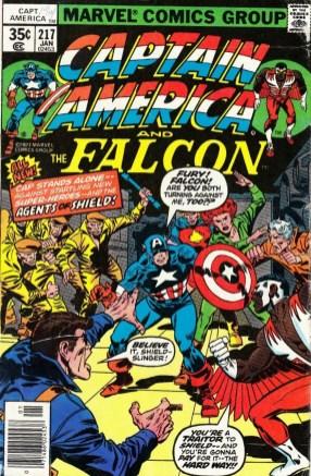 Captain America #217