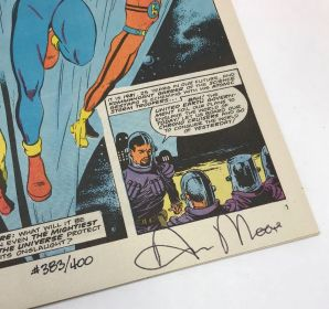 Miracleman #1 numbered