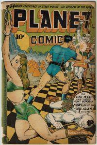 Planet Comics #34