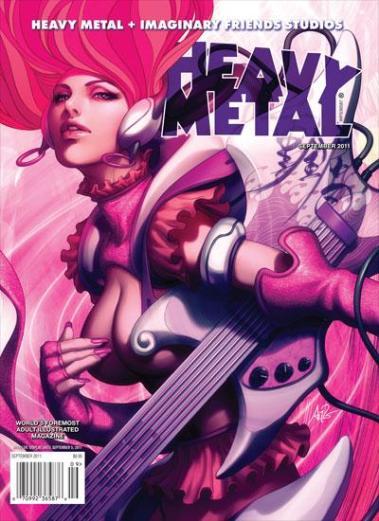 Heavy Metal September 2011