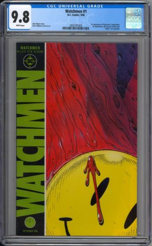 Watchmen #1 cgc 9.8