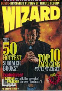 Wizard magazine #71