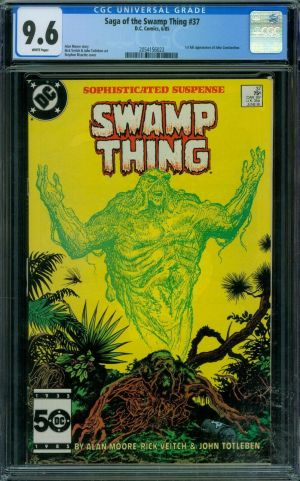 Swamp Thing #37 CGC