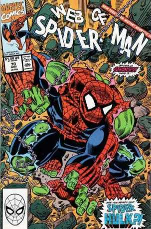 web of spider-man 70 1