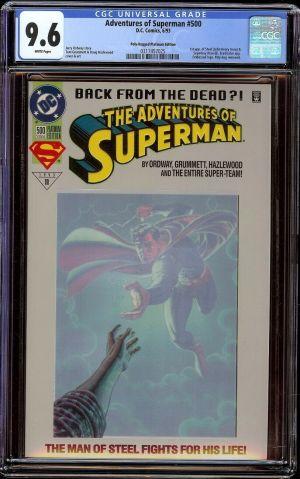 Adventures of Superman #500 Steel Platinum.jpg