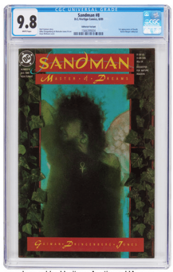 Sandman #8 Berger